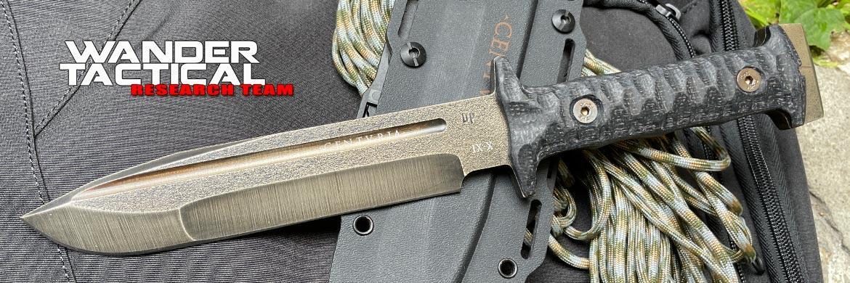 Wander Tactical - Centuria - Serial X - Prototype Limited Edition - Coltello Custom
