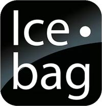 Ice Bag Borsa termica con manici per rinfrescare le bottiglie