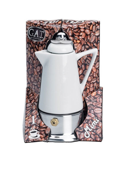 One Cup Ceramic Coffee Maker : G.A.T. - Coffee maker Mimi porcelain G.A.T. 1 CUP (household items)