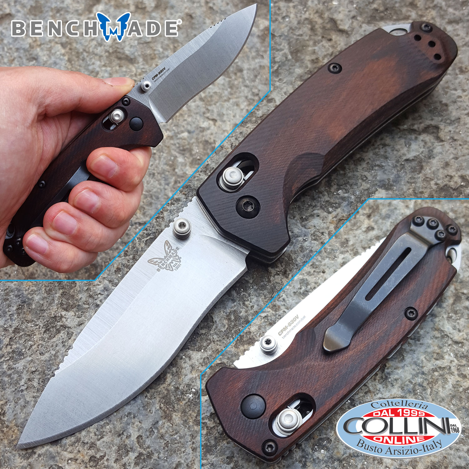 Benchmade North Fork Axis 15031 2 Folding Knife