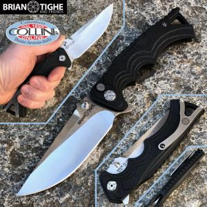 Brian Tighe and Friends - Tigers Fighter Large knife G10 Flipper - 1100-3 - knife