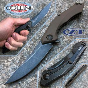 Zero Tolerance - ZT0460 - Sinkevich - Bronze Carbon Fiber - coltello