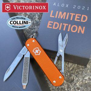 Victorinox - Classic Alox Steel Blue Limited Edition 2015 - 0.6221.L15 - coltello multiuso
