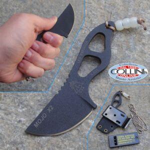 Tops - Mojo X2 Neck Knife by Leo Espinoza - coltello