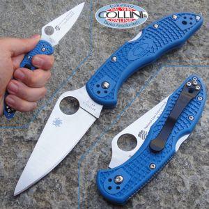 Spyderco - Delica Flat Grind - National Law Enforcement Officer Museum Foundation - C11FPBLM - coltello