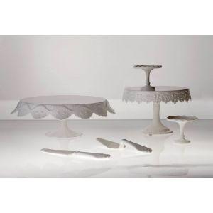 Pavoni - Vassoio Garcon per pasticceria bianco cm. 39x33x4,5 - Sweetable