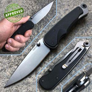 Spartan Blades - Akribis Tungsten Flat Black - SF1 - coltello