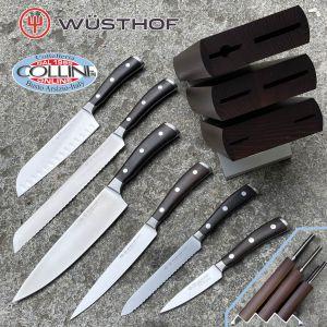 Wusthof Germany - Ceppo Coltelli Ikon 6 Pezzi - 1090570601