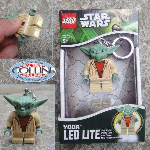 LEGO, Star Wars, Portachiavi LED, Yoda, torcia a led
