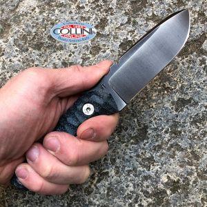 Wander Tactical - Scrambler - Iron Washed & Black Micarta - coltello artigianale