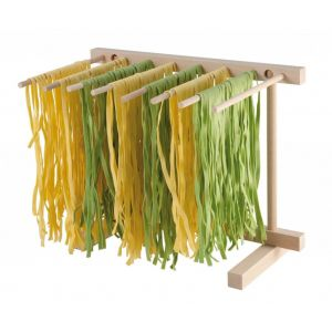 Made in Italy - Stendi-asciuga pasta richiudibile in faggio