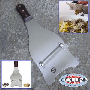 Made in Italy, Mandolina Inox per Tartufi, Funghi, Verdure e Formaggi, accessorio cucina