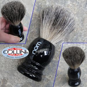 Muhle - NOM - shaving brush badger 181P26 - Black