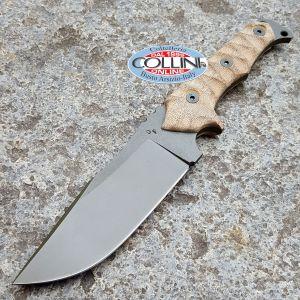 Wander Tactical - Haast Eagle - Raw Finish & Desert Micarta - coltello custom