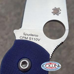 Spyderco - Military - Dark Blue CPM-S110V - C36GDBL - coltello