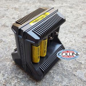 Nitecore - Intellicharger i8 EU - Caricabatterie Universale - per RCR123A, 18650, 14500, C, AA, AAA