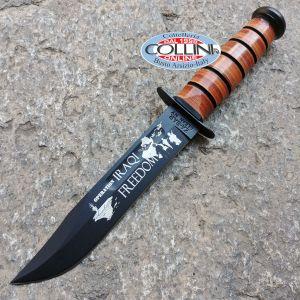 Ka-Bar - USMC Iraqi Freedom Military Knife - K-9128 - coltello