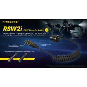 Nitecore - Comando accensione a distanza per carabina o fucile - remoto torce