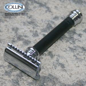 Merkur Solingen - Rasoio di sicurezza Classic Nero - 90 38 011
