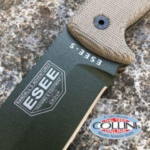 ESEE Knives - Esee-5P knife OD Green - SENZA FODERO - coltello
