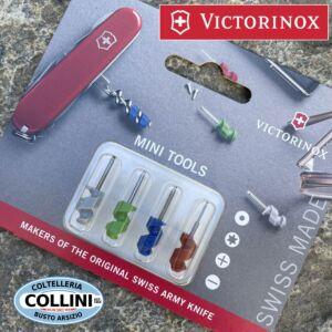 Victorinox - Guancette rosse di ricambio per multiuso Victorinox 91mm - coltello multiuso