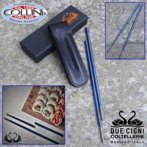 Due Cigni - Chopsticks, 1 Pair of Titanium Chopsticks