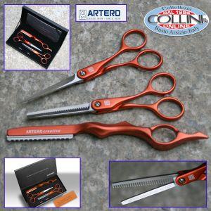 Artero - Set 3pz forbice/ sfoltire/sfilzino - Ambar