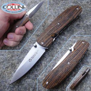 Maserin - Easy Alpacca ed Bocote by Attilio Morotti - 386/BO coltello