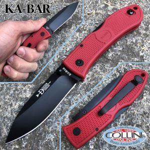 Ka-Bar - Dozier Folding Hunter knife 4062 - Black Zytel Handle - coltello