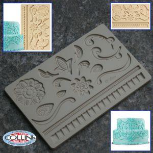 Wilton - Fondant and Gum Pastas Mold - Sketch lace