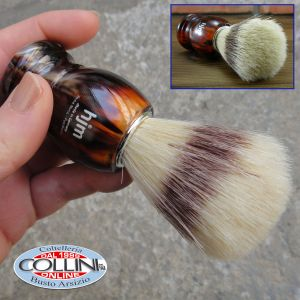 Muhle - HJM - Pennello da barba in pelo di setola - Tartaruga