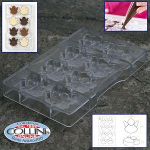 Decora - Mould chocolate angel - 8 cavities