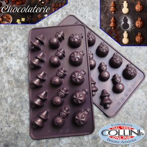 Birkmann - Praline and  Chocolate Moulds Merry Christmas