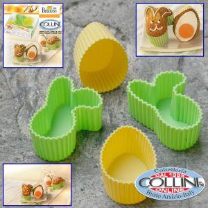 Birkmann - Molds for muffins and Easter dessert - Egg / Bunny