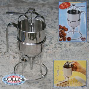 Stadter - Dosatore per crema e cioccolato con 2 cornetti