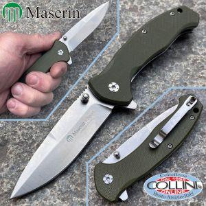 Maserin - Ram G10 Verde - by Jean Marc Arnaud - 501/G10 coltello