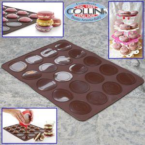 Lékué - Tappetino in silicone per 20 Maxi Macaron