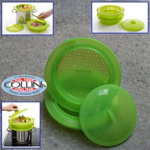 Lékué - Vaporiera in silicone piccola- accessorio cucina
