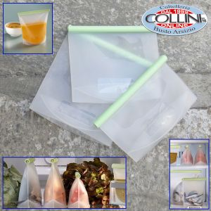Lékué -  Kit 3 reusable silicone bags