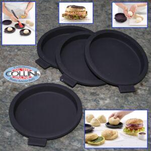 Lékué - Burger Bread - 4 molds for hamburger buns