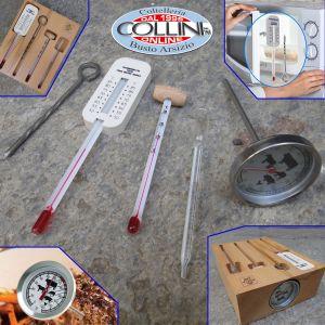 Stadter - Termometro in acciaio per liquidi