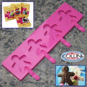 Silikomart - Silikomart - Babyline Ginger Pop - Pasticceria
