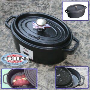 Staub - Cocotte ovale in ghisa smaltata cm. 23 (articoli casa)