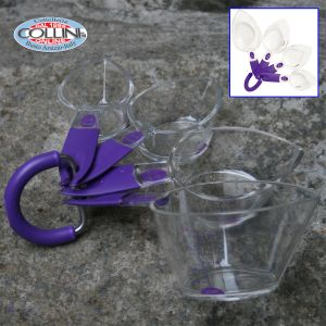 Wilton - Set of measures in silicone - kitchen - Cups