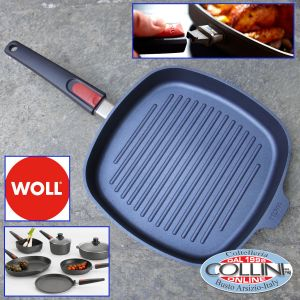 Woll - Frying pan grill 28x28cm Diamond Lite