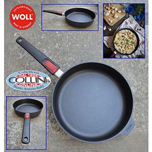 Woll -  Sauté  Pan with a detachable handle 24 cm - Diamond Lite