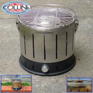 LotusGrill - Barbecue da tavolo a carbonella