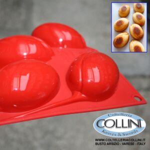 Silikomart  - Medium Sized Tulip Silicone Mold Red