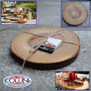 Zassenhaus - Serving plate acacia - Size 32 cm
