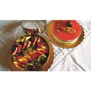 Made in Italy - Anelli inox per torte dolci e salate 8 pezzi